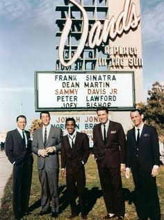The Rat Pack,1960s
