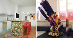 Con las piezas LEGO puedes construir todas las cosas que quieras, y aquí te mostramos 30 cosas útiles para tu hogar que puedes construir con éstas piezas