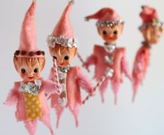 The Candyland Sugarplum Elf  Vintage mini doll by Mab by mabgraves