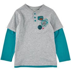 Souris Mini - Cotton jersey T-shirt with long sleeves - 97999