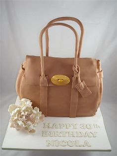 mulberry bayswater bag  by cake by kim, via Flickr