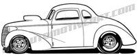 1000  images about dap of drawings of cars  u0026 rods  2  on