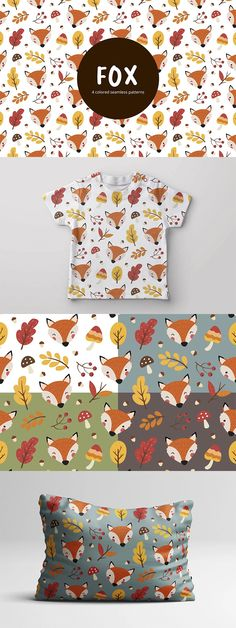 We present you Fox Vector Free Seamless Pattern. This set consists of thematic drawings. This graphics can be used to create an interesting design of various things. Free Vector Patterns, Vector Free, Cool Designs, Fox, Presents, Kids Rugs, Drawings, Color, Sketches
