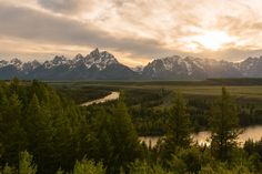 This is why I always get to location BEFORE sunset! Grand Tetons WY [OC] [7952x5304]   landscape Nature Photos