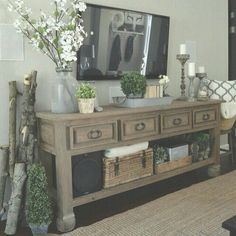 Shabby chic farmhouse living room decor ideas 27 *** You can find out more details at the link of the image. Shabby Chic Living Room, Shabby Chic Homes, Shabby Chic Furniture, Home Living Room, Living Room Designs, Living Room Decor, Tv Furniture, Furniture Movers, Bedroom Furniture