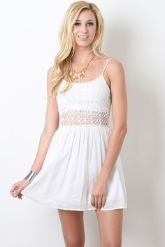 With a pair of straw or hemp wedges....this is the perfect outfit for strolling around on deck!