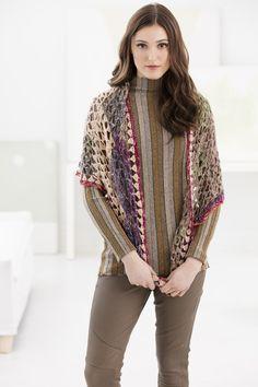Lacy Squares Shawl (Crochet)