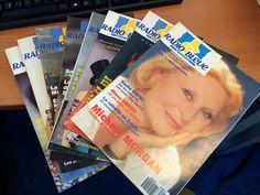 """""""Radio Bleue magazine"""", une publication made in Radio France, au début des années 90 !"""