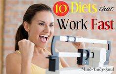Diets That Work Fast  Wondering which eating routine to pick? Nowadays there are many eating regimens particularly intended to get in shape rapidly and without picking up it back.  http://dietprogramstoloseweight.org/diets-work-fast/