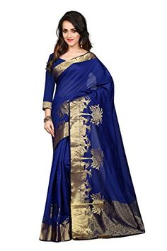 Anjani Enterprise Women's Blue Color Cotton Saree With Blouse Piece - http://www.zazva.com/shop/women/anjani-enterprise-womens-blue-color-cotton-saree-blouse-piece/ Fabric: Cotton,Colour:Blue Size & Fit: 5.2+ m long & 112 cm wide saree. 80 cm + blouse Beautiful And Genuine Fabric. Suits Every Ocassion. Elegance And Eye Catching Design. Perfect Choice For Every Indian Women::The Indian Traditional Wear For Women