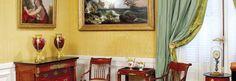 El área privada de Matías Errázuriz Alvear (Mato) consistía en una antecámara, un dormitorio, un boudoir art déco diseñado por José María Sert y una biblioteca-escritorio. Todos los muebles originales fueron retirados por su dueño en 1936 cuando se concretó la venta de la residencia al Gobierno Nacional.