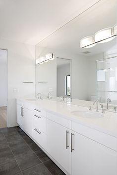 Los Altos Hills Custom Home - contemporary - bathroom - san francisco - De Mattei Construction