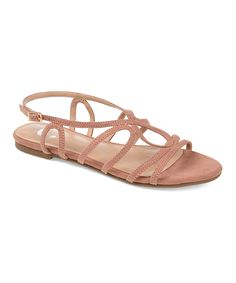 Journey + Crew Pink Honey Gladiator Sandal - Women   Zulily Gladiator Sandals, Pink, Honey, Fashion, Moda, Fashion Styles, Pink Hair, Fashion Illustrations, Roses
