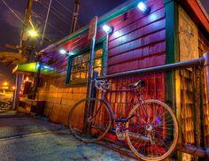 Bike at the Barking Crab, Boston by Stanton Champion / 500px