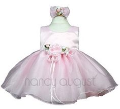 Simple Pink Baby Dress