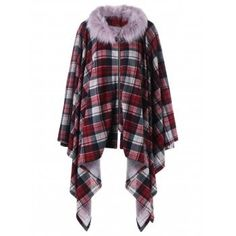 SHARE & Get it FREE | Plus Size Faux Fur Plaid Drape CoatFor Fashion Lovers only:80,000+ Items·FREE SHIPPING Join Dresslily: Get YOUR $50 NOW!