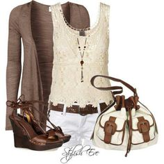 Dark brown with white or cream lace is possibly my favorite combination of all time.How uly European.
