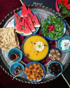 Iranian Dishes, Iranian Cuisine, Ramadan Decoration, Food Decoration, Iran Food, Food Tasting, Arabic Food, Perfect Food, Food Design
