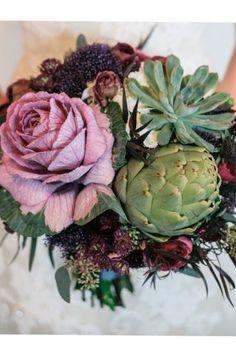 Bouquet de mariée automnal