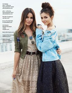 Victoria Justice #VictoriaJustice &  Madison Reed  Lefair Fall 2017 Issue http://ift.tt/2yfs0pp