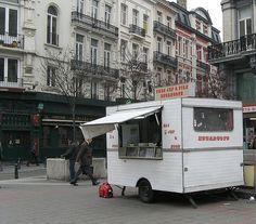 Escargots: Beursplein - Place de la Bourse - Chez Jef