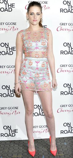 Kristen Stewart at the 'On the Road' premiere... (Getty Images)