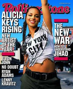 Rolling Stone Cover of Alicia Keys