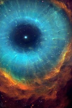 Science and Astronomy The Helix Nebula (NGC is a large planetary nebula located in the constellation Aquarius. The Helix Nebula's estimated distance from earth is about 215 parsecs or 700 light-years. EYE OF THE UNIVERSE. Planetary Nebula, Helix Nebula, Orion Nebula, Andromeda Galaxy, Carina Nebula, Horsehead Nebula, Cosmos, Hubble Space, Space And Astronomy