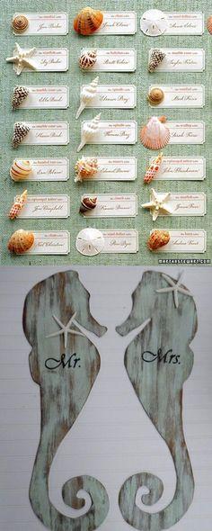 Ideas para bodas en la playa / http://www.facilisimo.com/blog-misbodaswp