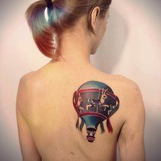 cool-hot-air-balloon-tattoo.jpg (635×634)