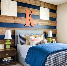 Love the accent wall {from project nursery}