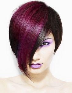 Purple/Magenta Hair
