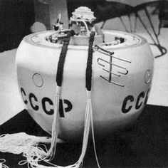 """Image of the Venera probe. """"The Other Red Planet: Soviet Union Scored an Interplanetary First at Venus 45 Years Ago. The U.S.S.R.'s Venera 4 was the first spacecraft to return data from inside another planet's atmosphere"""""""