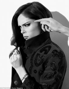 Strong beliefs: Supermodel Coco Rocha has opened up about being a devout Jehovah's witness and she says that despite her fame she still goes knocking door-to-door with her congregation