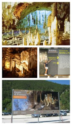 The Spectacular 'Grotte di Frasassi' in The Marches in Italy