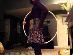 Hoop jump through behind the back tutorial