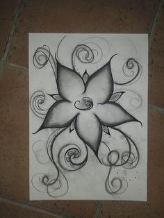 #Flower #Beautiful #Drawing