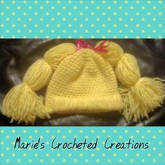 Cabbage patch kids hat