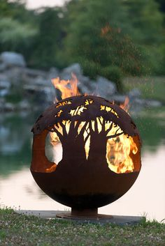 Fire Pit Gallery – Unique Custom Steel Outdoor Fire Pits