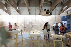 Venice Biennale 2012: New Forms in Wood / Finland, Alvar Aalto Pavilion