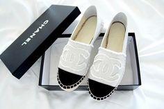 Chanel Espandrilles <3 http://imnext.se/victoriatornegren/