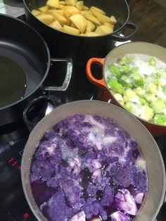 Crema de coliflores