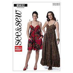 Buy Butterick Children's Dress Sewing Pattern, 5632, A Online at johnlewis.com