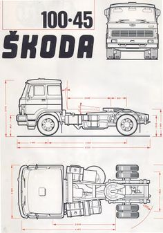 Skoda 100.45 Car Sketch, Czech Republic, Sport Cars, Cars And Motorcycles, Techno, Jeep, Transportation, Garage, Trucks