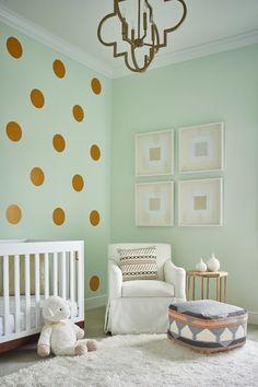Pastellgrün Wohnideen Kinderzimmereinrichtung