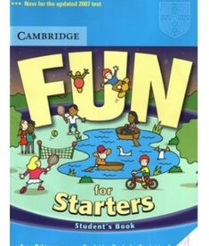 Title Slide of 241173720 fun-for-starters-cambridge English Grammar Book, English Reading, English Book, Teaching English, Learn English, English Language, Cambridge Book, Cambridge Exams, Cambridge English