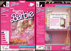 Ralston - Breakfast with Barbie - cereal box - 1989   Flickr - Photo Sharing!