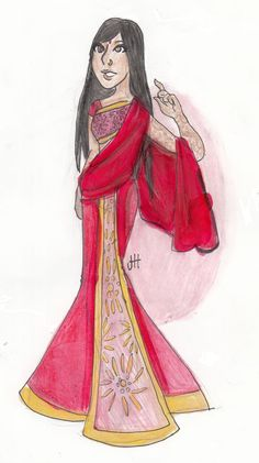 Sari, Not Sorry by Sketch Jess