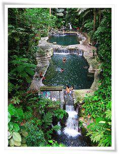 Natural Thermal Pools, Hidden Valley Springs, Alaminos, Laguna, Phillippines