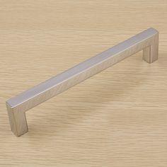 modern stainless steel 304 european style furniture handle wardrobe drawer cabinet door hardware kitchen cabinet door